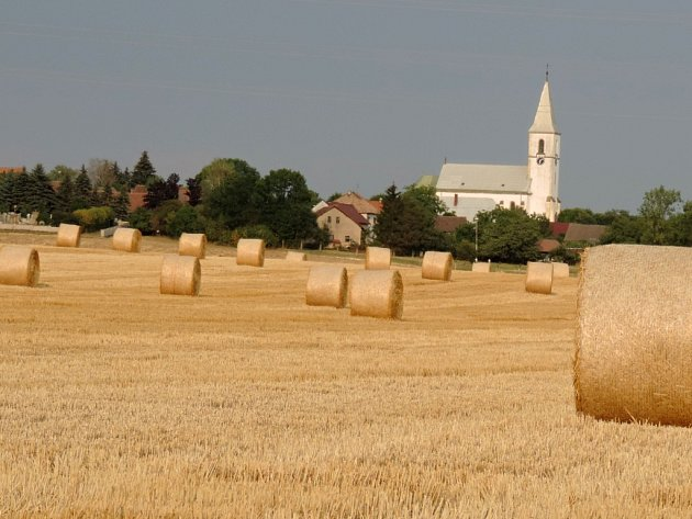 Stračovský kostel.