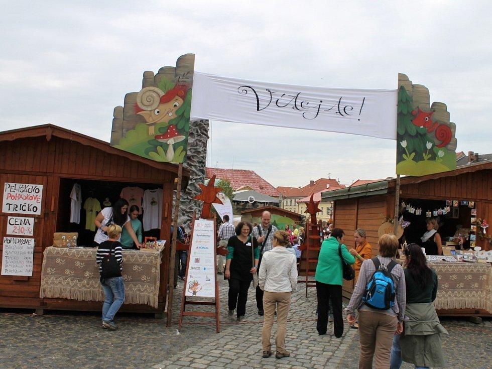 Ze závěru jičínského pohádkového festivalu.
