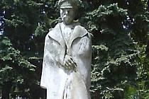 Masarykův pomník v Nové Pace.