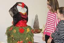 Vánoční výstava v budově radimského obecního úřadu.