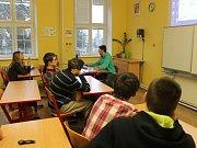 Etická výchova na novopackém gymnáziu.