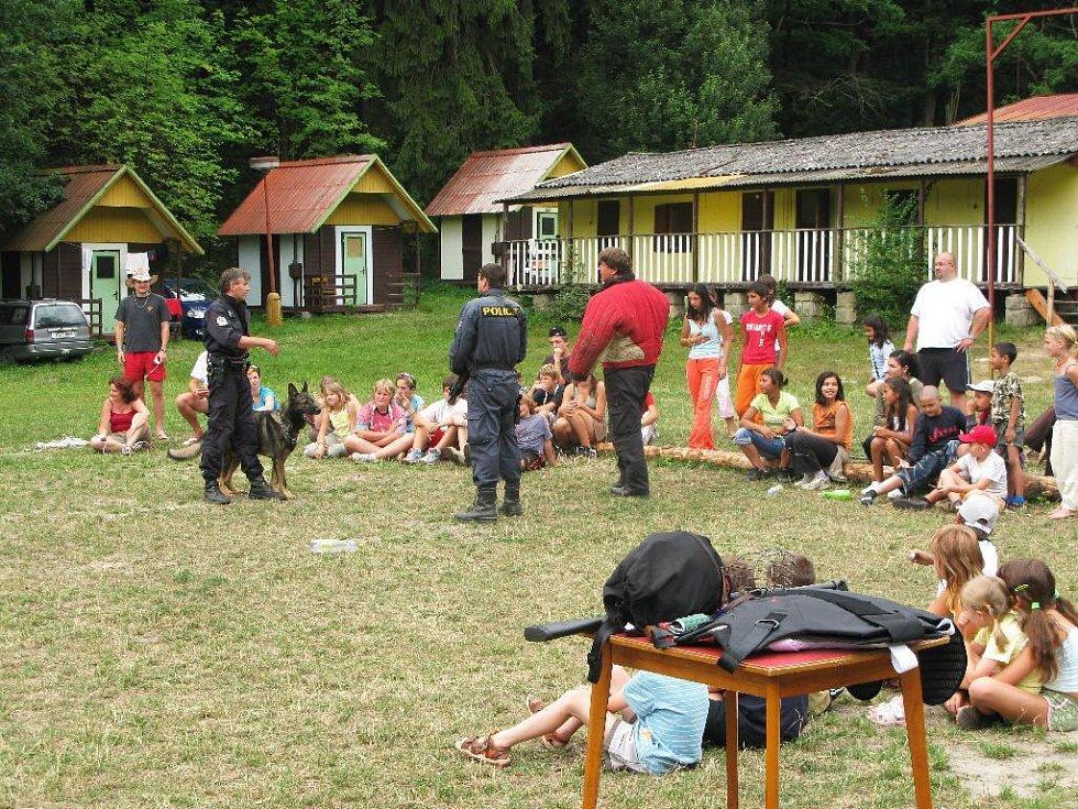 Z akce pro děti a mládež v Ostružně.