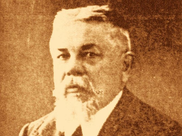 Josef Jan Fučík, lomnický historik a osobnost města.