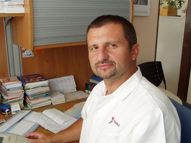 Praktický lékař Petr Lisý.