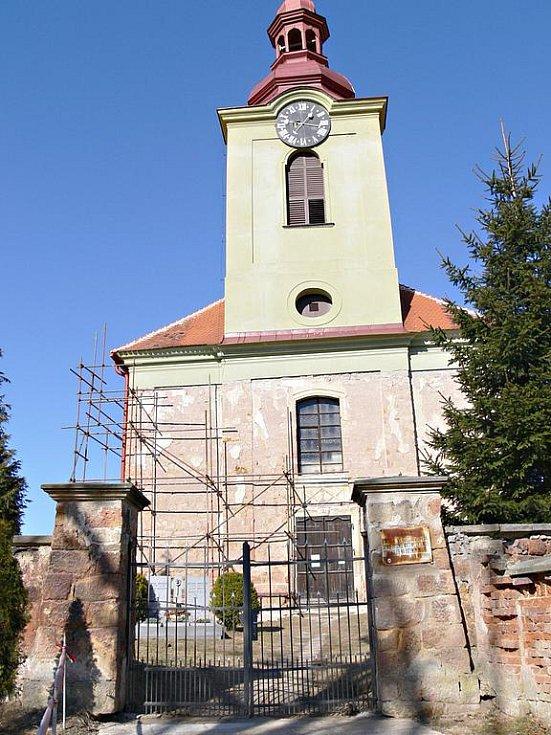 Lužanský kostel.
