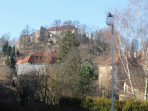 Peckovský hrad.