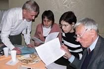 Komise ocenění Jivínský Štefan roku 2008.