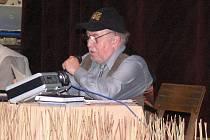 Jan Macák, nestor českého bluegrassu.