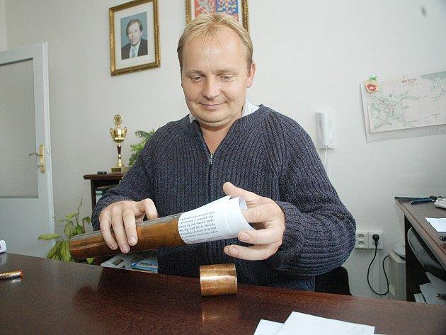 Miroslav Nosek, starosta Miletína.
