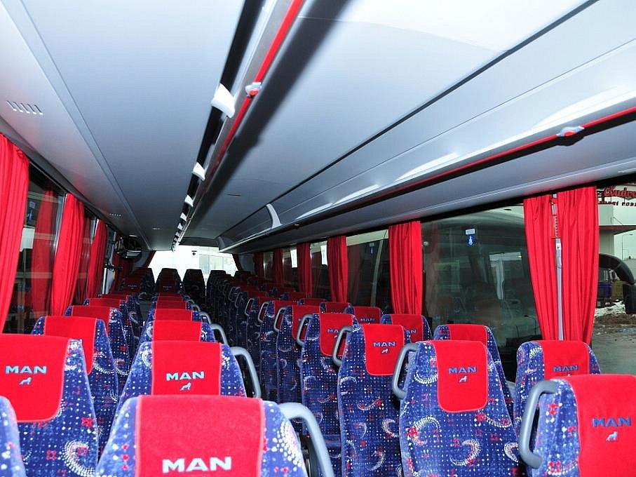 Komfort autobusů BusLine.