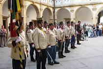 Historická vojenská jednotka ze Železnice.