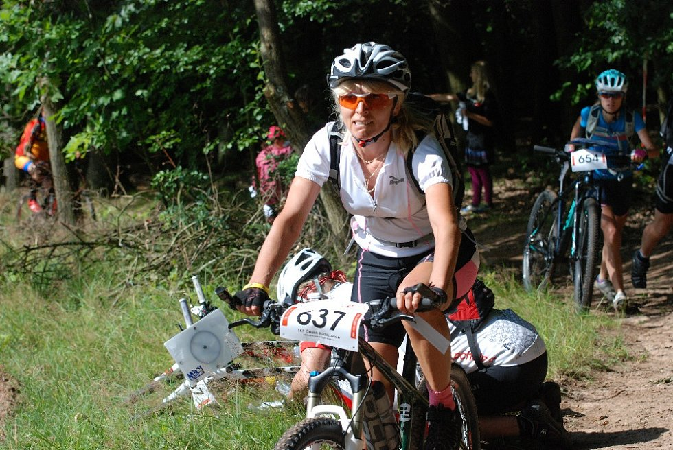 Z lužanského závodu Superior Bike Adventure.