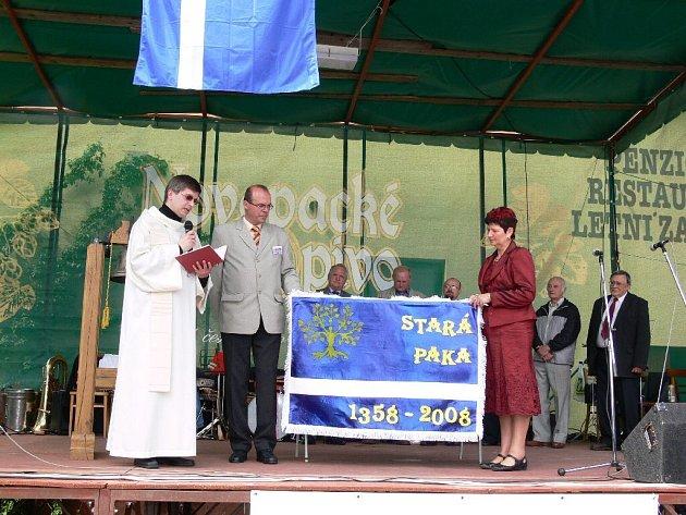 Ze staropackých oslav výročí vzniku obce.