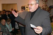 Ředitel novopackého muzea Miloslav Bařina.