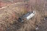 K jedné z nehod došlo v sobotu 12. března v Nové Pace.