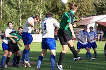 Milíčeveská rezerva odehrála dva zápasy doma.