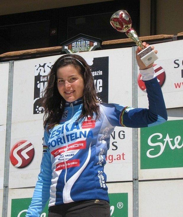 Vítězka Tereza Huříková.