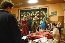 Vánoční výstava v Borovnici.