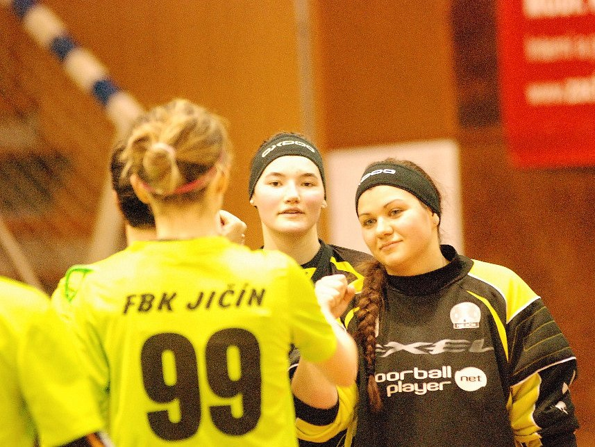 Utkání florbalistek FBK Jičín – ELITE Praha.