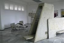 Výstava Floriana Lamprechta v hořické Galerii plastik.