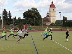 Bělohradský školní fotbalový kroužek.