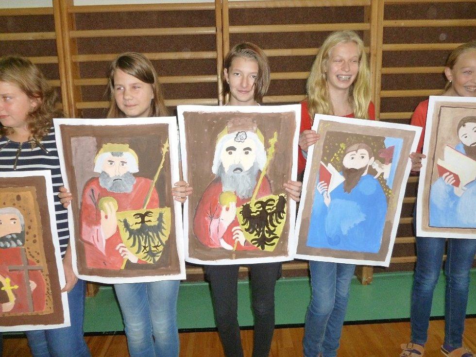 Chomutičtí žáci si připomněli Karla IV.