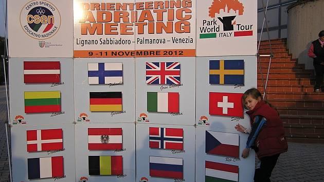 Závody se běžely v rámci Adriatic Meetingu.