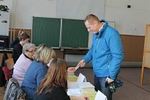Druhé kolo prezidentských voleb v Jičíně.