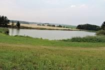 Mlázovický rybník.