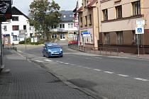 Novopacká ulice Legií.