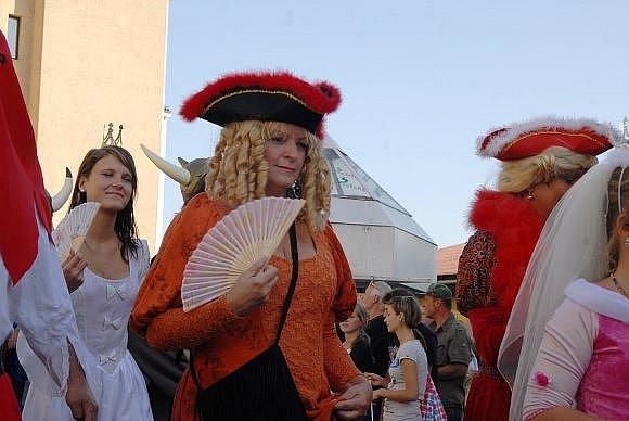 Zahájení festivalu Jičín - město pohádky 2009.
