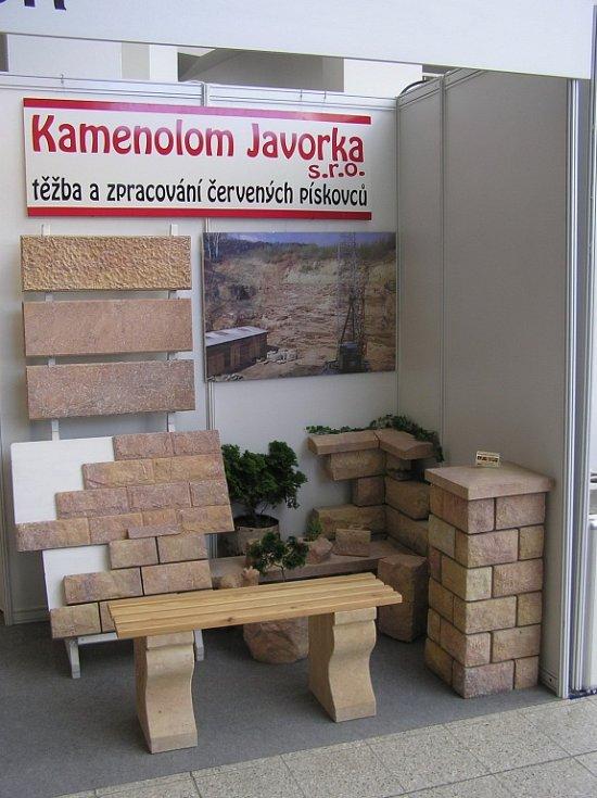 Prezentace kamenolomu Javorka.