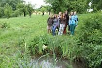 Ze slavnostního ukončení revitalizace tůňky u rybníku Hádek.