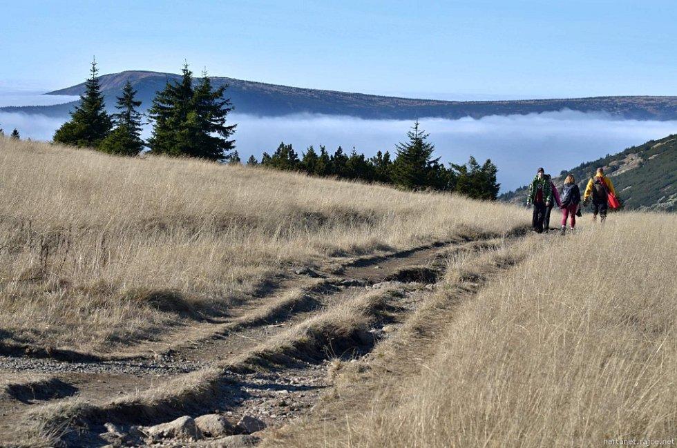 Podzimní procházka Krkonošemi.