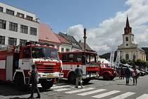 Tradiční městské slavnosti vyvrcholí večerním programem zakončeným ohňostrojem.