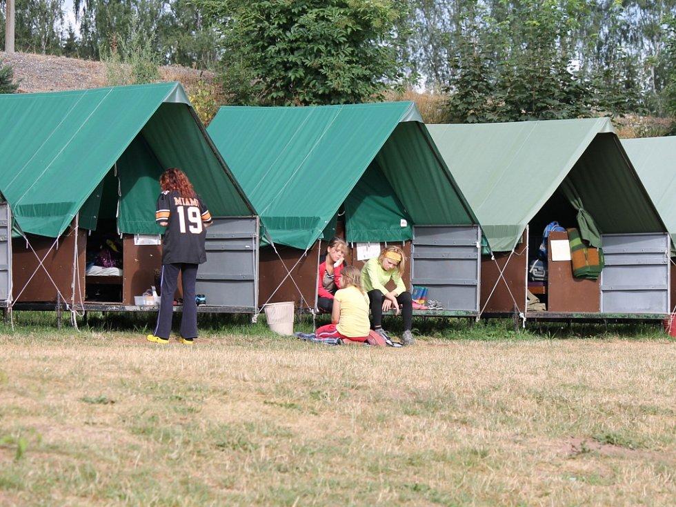 Letní tábor v Roškopově.