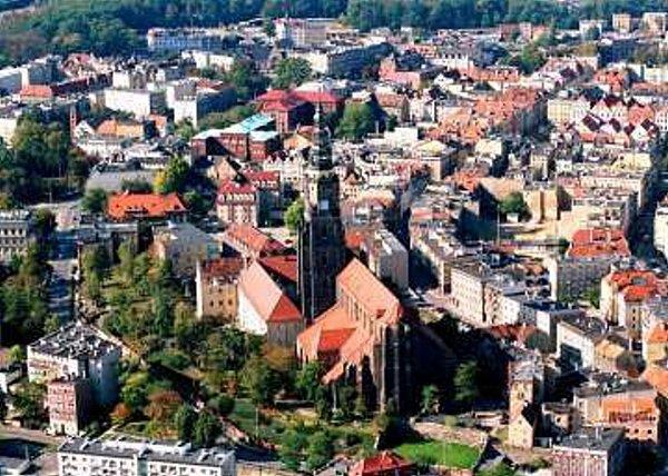 Polská Świdnica - katedrála.