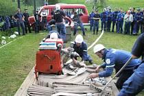 Z klání hasičů v Úbislavicích.