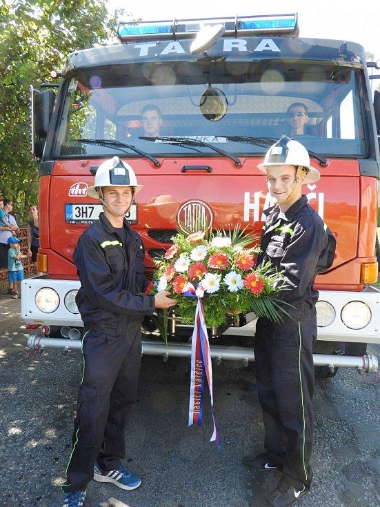 Od valdických hasičů.