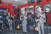 Beatles Veteran Club při koncertu v klubu Tango.