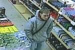 Mladík podezřelý z krádeže.