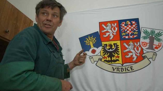 Starosta Vrbice Zdeněk Karbulka.