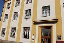 Poliklinika v Klicperově ulici v Hořicích.