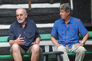 Déšť příznivce Ivo Šmoldase nerozehnal