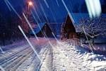 Sníh na Novopacku