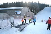 Z novopackého skiareálu.