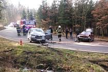 Oba řidiči vyvázli z nehody bez újmy na zdraví.
