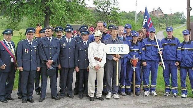 Sbor dobrovolných hasičů ze Zboží.