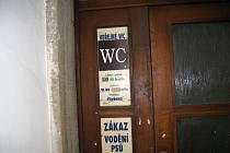 Sobotecké veřejné WC.