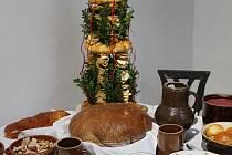 Muzeum zve na vánoční výstavu s názvem V babiččině kuchyni.